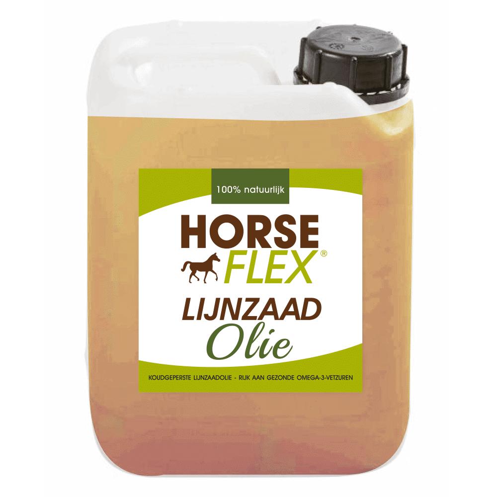 lijnzaadolie voor paarden