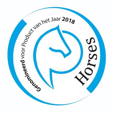 logo genomineerd voor horses product van het jaar 2018